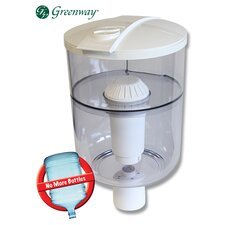 Water Dispenser Filtration System in White