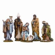 Five Piece Nativity Figurine Set