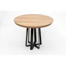 Blackened Steel Tall Table