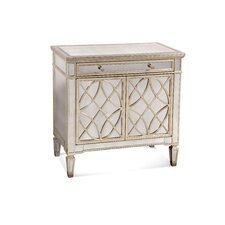 Borghese Mirrored Door 1 Drawer Chest