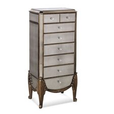 Collette Mirrored Jewelry Chest