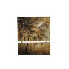 Golden Trees Canvas