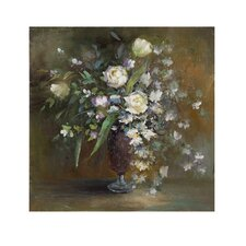 Roses in a Vase Canvas