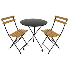 European Café 3 Piece Dining Set