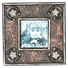 Wood Western Picture Frame