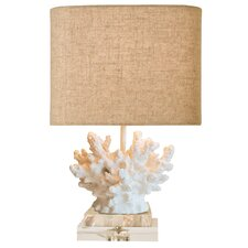 Coastal Retreat Wayfarer Coral Table Lamp