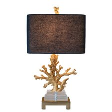 Coastal Retreat Coral Table Lamp