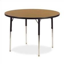 "4000 Series 48"" Round Activity Table (17"" - 25"" Short Legs)"