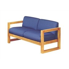 Love Seat with Sled Base