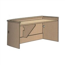"Patron Executive Desk Unit (32"" x 72"")"