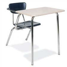 "3000 Series 29"" Laminate Chair Desk with Particleboard"