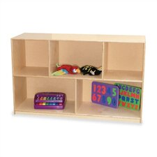 "Early Childhood 5 Compartment Mobile Storage Unit (30"" H)"