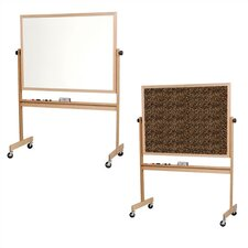 Reversible Writable/Tackable Presentation Easel