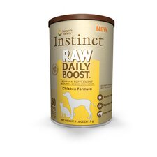 Instinct Raw Daily Boost Freeze Dried Supplement Chicken Formula Treat