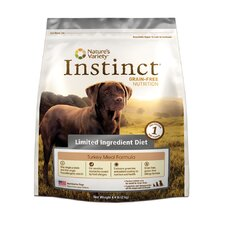 Instinct Grain-Free Limited Ingredient Diet Turkey Meal Dry Dog Food