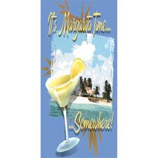 Margarita Time Beach Towel