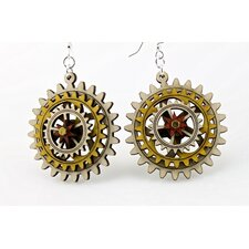 Kinetic Gear 4 Earrings