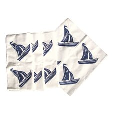 Sailboat Dinner Napkin (Set of 4)