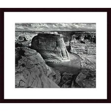 Canyon de Chelly National Monument by Ansel Adams Wood Framed Art Print