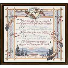 Apache Wedding Blessing Counted Cross Stitch