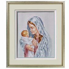 The Blessed Mother Counted Cross Stitch
