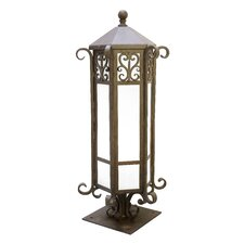 Caprice 1 Light Outdoor Post Lantern