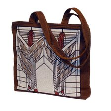 Frank Lloyd Wright ® Sumac Unlined Shoulder Tote Bag
