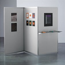 Envision® Three Panel Hinged Display Panel