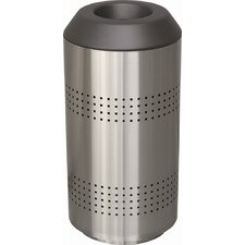 Timo 35 Gallon Receptacle with Perforated Sides