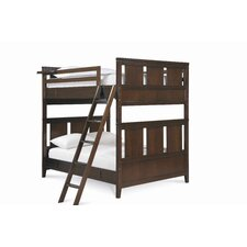 Free Style Full over Full Bunk Bed with Ladder