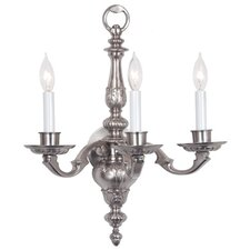 3 Light Georgian Wall Sconce