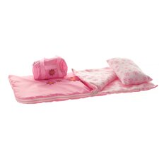 3 Piece Doll Sleeping Bag Set