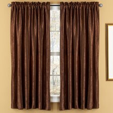 Aretha Crushed Rod Pocket Window Curtains Panel Pair