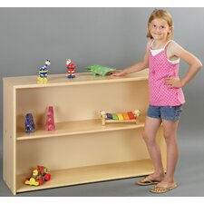 Eco Laminate Preschool Open Shelf Storage