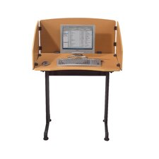 Economical Laminate Study Carrel Desk