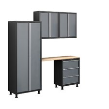 Bold Series 5pc Cabinet Set with Locker