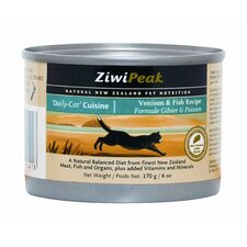 Canned Venison/Fish Wet Cat Food (6-oz, case of 12)