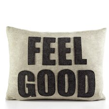 """Feel Good"" Pillow"