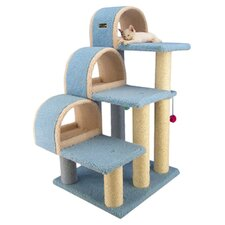 "38"" Classic Cat Tree in Blue"