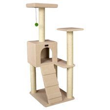 "53"" Classic Cat Tree in Beige"