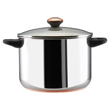 Paula Deen 8 Qt. Stock Pot in Stainless Steel