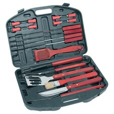 KitchenWorthy 18 Piece BBQ Tool Set