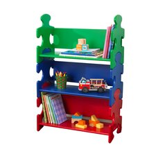 Puzzle Bookcase in Primary