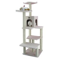 "68"" Classic Cat Tree in Ivory"
