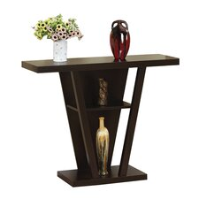 Newbury Console Table in Red Cocoa