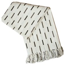 City Chenille Throw in Cream