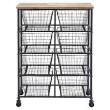 Serving Cart in Black