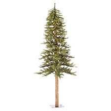 Natural Alpine 7' Christmas Tree with Clear Lights
