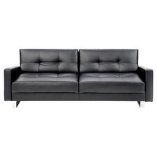 Marquee Euro Palacio Sleeper Sofa in Black