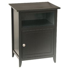 Oak Park Cabinet in Black